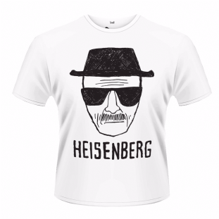BREAKING BAD - HEISENBERG SKETCH T-SHIRT (L) (Brand New With Tag)